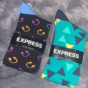 NWT Express Socks Bundle of 2